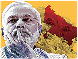 The question is whether Modi's high-intensity campaign will be sufficient to ensure maximum seats from the state.