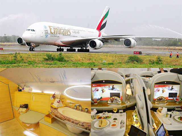 Airbus A380: Interior shots of one of world's largest ...
