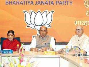 BJP's third list of candidates, announced after a day-long contentious meeting, was more significant for what it left out than what was announced.