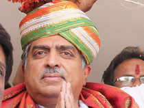 "Former Infosys founder and Congress candidate from Bangalore South, Nandan Nilekani,today said the Aam Aadmi Party is not a factor in the Lok Sabha elections and it is a party with ""agitational DNA""."