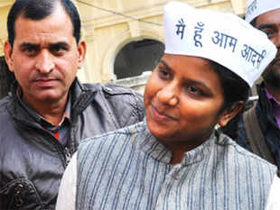 Aam Aadmi Party candidate from North West Delhi Rakhi Birla has Rs 1.6 lakh as movable assets, according to the declaration made by her during filing of nomination today.