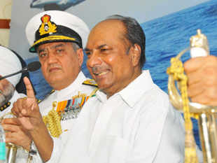 Antony has come under unprecedented attack from a battery of former navy chiefs, who accuse him of dithering by not appointing a successor to DK Joshi.