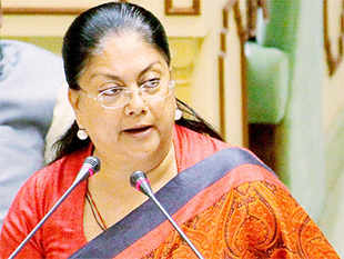 Raje held the meeting with eight MLAs of Barmer and Jaisalmer districts who were specially called for review and to discuss the impact.