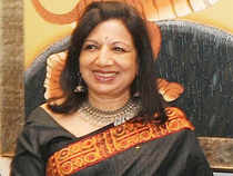 "Biocon MD Kiran Mazumdar Shaw tweeted, ""Congress's manifesto demanding private sector reservation for SC/ST is populism at its worst."""