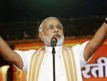 """""""Can a single person bring a big change in a large state like Gujarat? It could not have been achieved without the effort of Team Gujarat,"""" Modi said."""