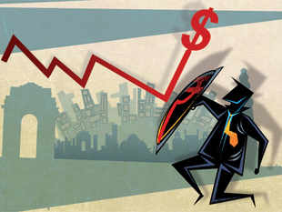 In less ideal conditions, limit the current account deficit by letting the rupee depreciate when exports become uncompetitive, and encourage stable dollar inflows.
