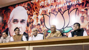 BJP, which got 116 seats in the 2009 elections, is projected to improve its tally and is likely to secure 206-218 seats, the survey said.