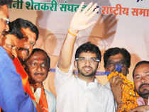 Aditya Thackeray, while on a trip to Nagpur on Thursday, told reporters that he was 'anguished and angered' at the violence 'unleashed' by Maharashtra Navnirman Sena (MNS) cadres at the Old Custom House in Mumbai on Thursday, where Sena and MNS workers clashed during the filing of nominations.