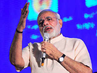 Many scams have occurred in the state but were not discussed much as they were overshadowed by the bigger scams in the Centre, Modi said.