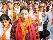 """A day after Priyanka Vadra said that her cousin and BJP leader Varun Gandhi had gone """"astray"""", party nominee from Amethi Smriti Irani asked her whether she wanted him to follow the path of 2G, 3G and coal scams."""