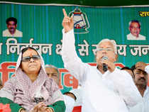 """There is a tinge of sympathy among the crowd. """"We have to ensure Misa and Rabri win — for Lalu's sake,"""" an ardent supporter tells ET."""