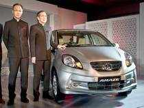 Honda Cars India today launched the special edition of its compact sedan Amaze to mark the first anniversary of the car in the Indian Market.