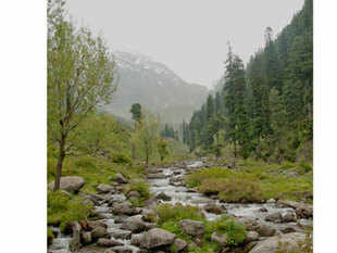 Pahalgam's welcoming roads pave way to sturdy four-wheelers where breezy sights of beautiful ponies sitting near the curb and Hansel and Gretel houses pop up near Lidder river banks.