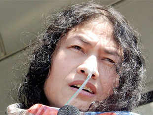 IromSharmilaChanu, who has been on a fast for 13 years against a special, stringent anti-terror act inManipur, was Thursday not allowed to vote in theLSpolls as per law.