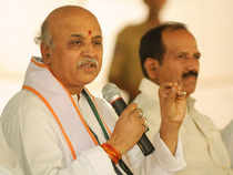 Togadia, however, distanced himself from the controversy, where he allegedly exhorted Hindus in Bhavnagar to forcibly vacate a Muslim from his property.