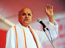 Vishwa Hindu Parishad leader Pravin Togadia faces the maximum number of cases and criminal complaints for making provocative and objectionable speeches, according to the home ministry.