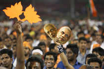 In the holy city of Varanasi, the Bharatiya Janata Party wants to turn the events around the nomination filing of Narendra Modi into a festival.