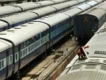 Railway shares pick up steam on hopes of NDA government