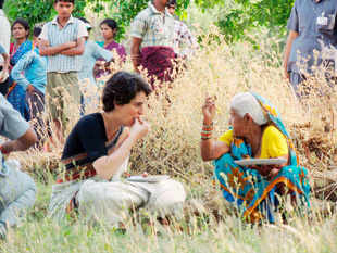 PriyankaGandhiVadraandNarendraModisparred with each other on Wednesday, the first time that theBJPprime ministerial candidate has directly taken on the Congress party's high-profile campaigner, locking horns over the issue of women's safety and the role of the Gandhi family.