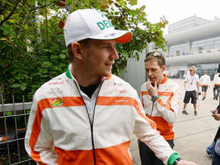 After four races, the team is in third spot in the constructor's championship and Nico Hulkenberg is in fourth position in the driver's standings