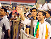 After six phases of elections involving 349LokSabhaconstituencies, the Congress leadership feels much less intimidated - compared to when poll process began - by poll projections that have predicted a 'Modiwave' andBJPleaderLKAdvani'sblog that Congress would not even win 100 seats.