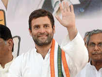 """""""This is the Gujarat Model. You give all the benefits to one industrialist. We are not againstindustrialisation,""""Rahulsaid mocking the model."""