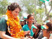 Amethi is our karmabhumi. It is like a sacred place. My heart belongs to this place. I have more friends here than anywhere else, says Priyanka Gandhi.