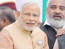"""""""Urging all those voting in 89LokSabhaseats across India to vote in record numbers today! Hope my young friends show the way in doing so,""""Moditweeted."""
