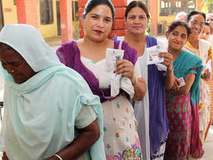 The overall voter turnout is 66.20 per cent so far after the seventh phase Lok Sabha election as against 57.61 per cent in the last elections.