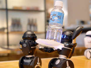 This technology can enable a robot not only to carry a cup of tea to an elderly person but can also sense whether it is too hot to handle.