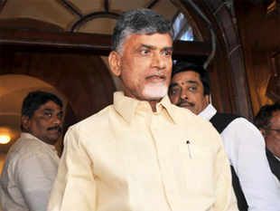In Telangana, I told people that it was TDP which developed the region and they should elect us for further development.