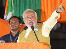 As the country enters the last lap in electing its next government, Narendra Modi's rhetoric has revealed more than one facet of his Mission 2014.