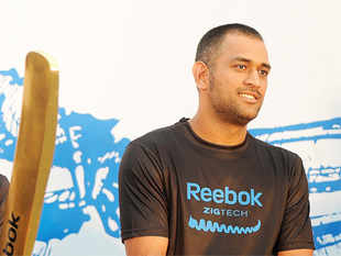 The only cricketer contract Reebok has renewed is that of Indian captain MS Dhoni.