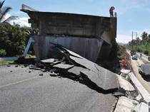 A strong 6.3-magnitude earthquake shook southern Mexico and the capital early Saturday, two days after a similar temblor rattled the country, officials said.