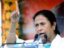 In a few words, she blamed a section of the media and a number of central agencies for conspiring against her and for being hostile towards her party.