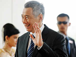"""Congrats to Narendra Modi and the BJP (Bharatiya Janata Party) on their electoral success!"" said Singapore PM Lee Hsien Loong in a post on his Facebook account."