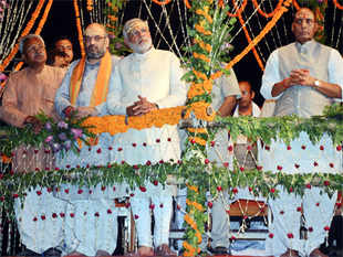 Sources say, Modi also plans to put in place a crack team in Varanasi, comprising local Varanasi men and others from New Delhi and Gujarat.