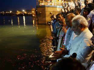 Sources in the government said that the team has reached out to the bureaucracy and sounded the bugle call on development initiatives for Varanasi.