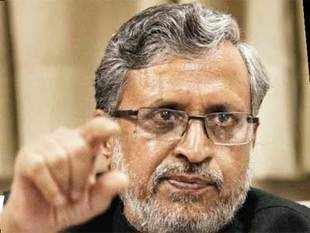 The BJP is not in favour of early polls, Nitish Kumar resigned on his own to deflect criticisms within his own party, says Sushil Modi.