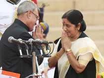 She has the distinction of becoming the youngest cabinet min inHaryanagovt at the age of 25 along withmany other firsts such as being the first woman CM of Delhi.