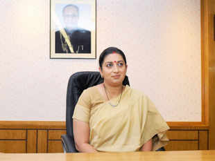 HRD minister Smriti Irani was in the eye of a storm after Congress alleged that she filed discrepant affidavits on educational qualifications