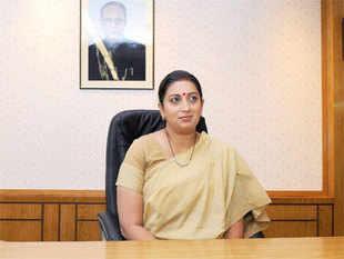 Smriti Irani hits back at Congress; says 'judge me by my work'