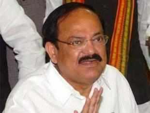 Naidu, a Bharatiya Janata Party Rajya Sabha lawmaker from Karnataka, is on a maiden visit to the city after his cabinet induction Monday.
