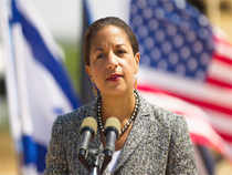 US National Security Advisor Susan Rice today congratulated her Indian counterpart Ajit Doval on his appointment and said she looks forward to working with him.