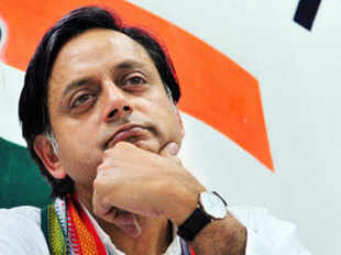 "Tharoor said, ""We appreciate the inclusive and positive language from the high echelons of this government. The opposition should not be churlish to ignore that."""