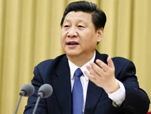 Chinese President Xi Jinping today repeated a call for a political resolution to the Syrian crisis and his country's support for an inclusive political transition, and offered to boost aid for Syrian refugees.