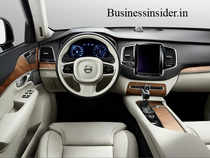 The centerpiece of Volvo's new interior is a 9-inch touchscreen display, reminiscent of the screen in Tesla's Model S.