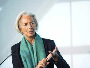 Christine Lagarde was asked at today's news conference if she could rule out accepting the job if it was offered to her.