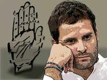 Rahul made his political debut and carried out his experiments within the Congress organisation with the comfort of the party being in power during 2004-14.