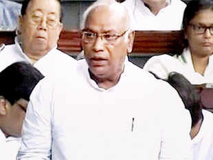 Kharge, a veteran of many electoral battles, was considered a strange choice by Congress as their leader in the lok sabha